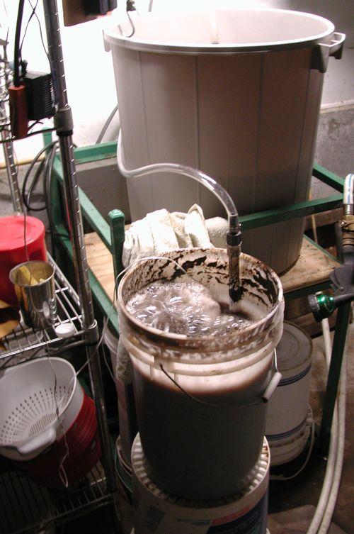 Aerobic Compost Tea brewing